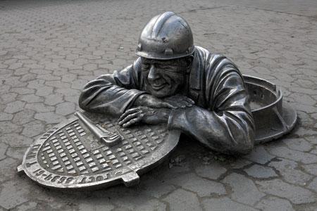 без канализации - нет цивилизации